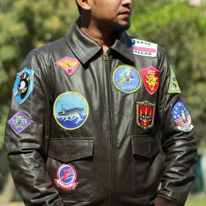 17 Patches Bomber Jacket