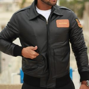 The Col Men Leather Jacket