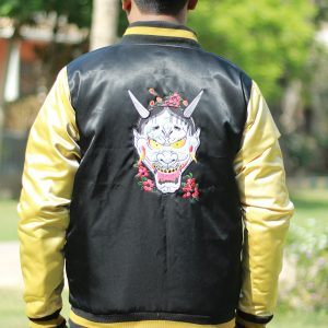ajima Dragon logo Bomber Jacket