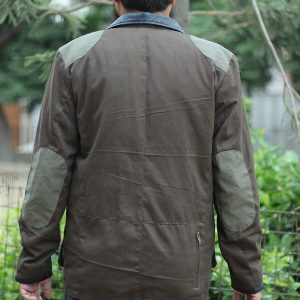 Men's Classic Military Green Patch Style Jacket for Sale
